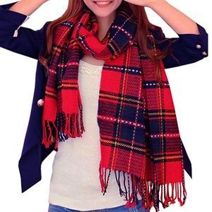 Accessories - 🆕 Red Large Scarf